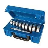 Silverline 486869 Accesorios para Instalar Retenes y Rodamientos, Plata, 40-81 mm...