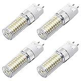 MENGS 4 unidades G12 LED lámpara 1600lm bombilla Brine 18 W LED Maíz luz repuesto 140 W halógenos 4000 K blanco neutro 360 ° ángulo de dispersión CRI 80, AC 85 – 265 V