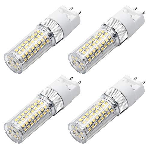 MENGS - 4 lampadine LED G12, 1600 lm, 18 W, ricambio per lampadine alogene da 140 W, 4000 K, luce bianca neutra, angolo di irradiazione di 360°, CRI80, AC 85-265 V