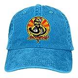 XCNGG Gorra de béisbol con Logotipo Cobra K-ai, Gorra de Vaquero atlética Ajustable para papá, Gorra...