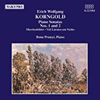 Korngold:Piano Sonatas 1&2