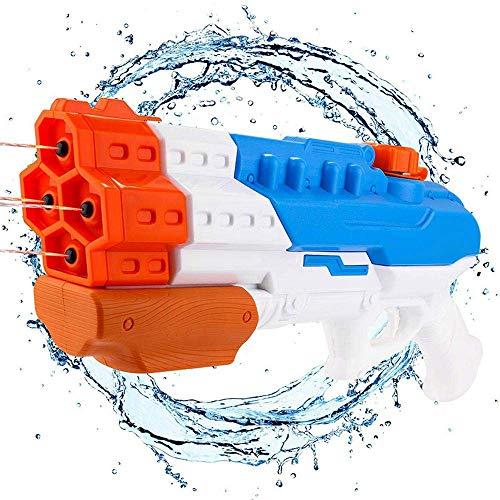 DYB Größte Wasserpistole Wasserpistole Sprinkler Wassersprühsprinkler Große Kapazität 1200cc Sprinkler Außenpool Strandwasser für Kinder 1200 CC