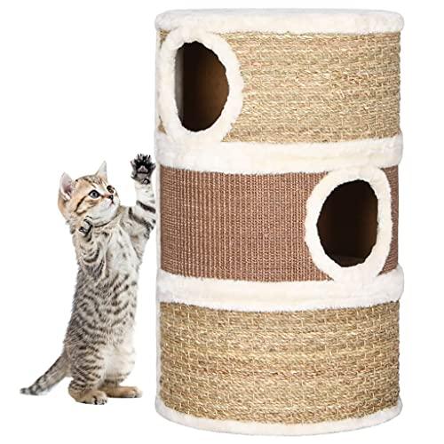 Barril rascador para Gatos Hierba Marina 60 cmProductos para Mascotas Productos para Mascotas Productos para Gatos Mobiliario para Gatos