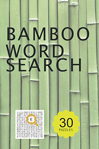 Bamboo word search puzzle book: undefined