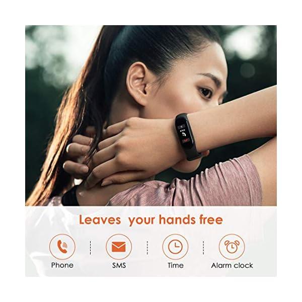 superpow Pulsera Actividad para Niños, Deportivo Smartwatch con Podómetros, Monitor de Frecuencia Cardíaca y Sueño… 3