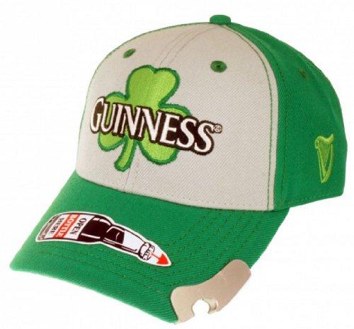 Guinness Clover with Bottle Opener Adjustable Cap