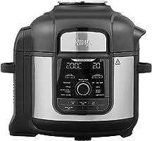 Ninja OP500 Foodi Ultimate Pressure Cooker with Crisping iMax 9 in 1 Multi Cooker 1760 Watts, 7.5 Litre Capacity, black,...