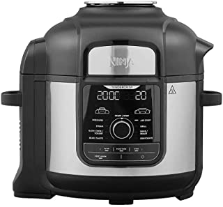 Ninja OP500 Foodi Ultimate Pressure Cooker with Crisping iMax 9 in 1 Multi Cooker 1760 Watts, 7.5 Litre Capacity, black, N...