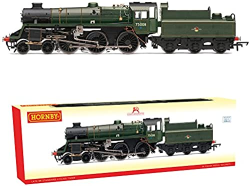 Hornby R3547 Standard 4MT 4-6-0 (BR Late) Loco-Steam, Multi