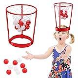 Diadema Bola de aro Juguete Juego de niños Bola de captura de interior Juguete para padres e hijos al aire libre Favores de fiesta Correa de cabeza