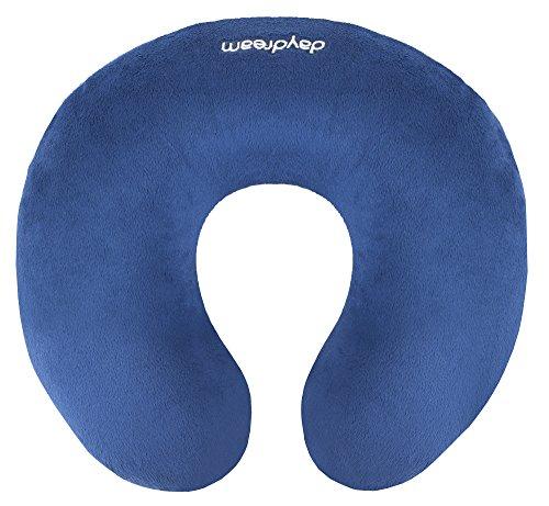 Daydream Nackenkissen aus Memory Foam (DS-01) blau| Kissen | Reisekissen | Nackenstützkissen