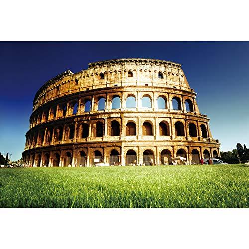 Puzzle Holz Pädagogisches Spielzeug Berühmte Gebäude Alte Römische Kolosseum Arena Erwachsene Kinder Familie Spaß Spielzeug 500/1000/1500 Stück (Size : 1000 pcs)