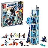 LEGO Marvel Avengers CLAS Batalla en la Torre de los Vengadores con Iron Man, Viuda Negra & Cráneo Rojo, Set de...