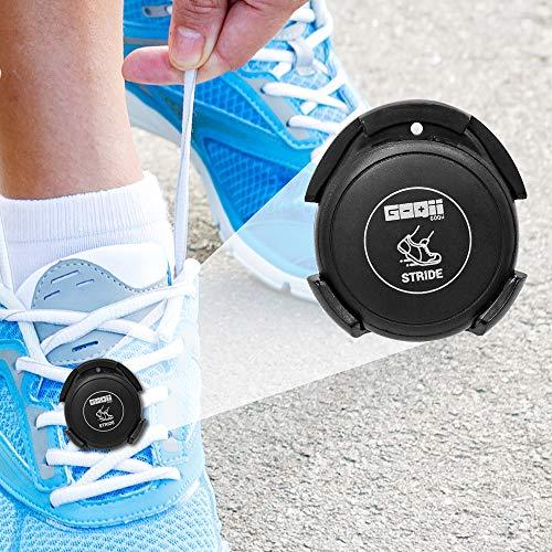 Goqii Stride Fitness Smart Tracker (Black), Bluetooth Connection