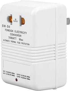 Voltage Converter Adapter 70W 110V/120V to 220V/240V Travel Step Up & Down Voltage Converter Transformer (CN standard plug)