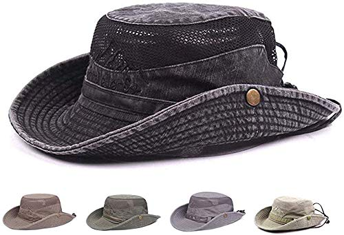 harygate Sonnenhut Herren,Sommerhut UV Schutz Wanderhut,Fischerhut Trekking Outdoor Buschhut Hiking Bucket Hat