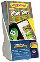 Tabbies / 28431 20 Pack with Display VeggieTales Bible Tabs Old & New Testament 90 Assorted Tabs (48431) [並行輸入品]