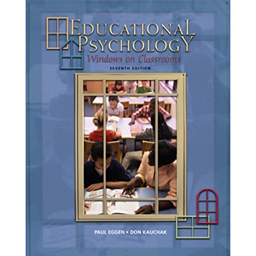 VangoNotes for Educational Psychology, 7/e cover art