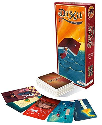 Asmodee - Dixit 2 Quest Juego de Mesa, edición Italiana, Multicolor, DIX02IT