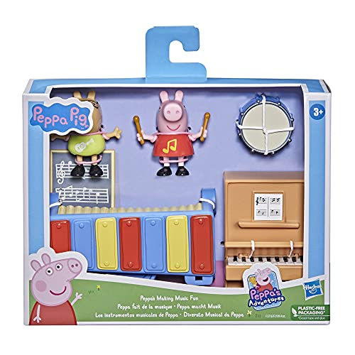 Peppa Pig- Pep I PLAYSET Piano Fuerte, Multicolor (Hasbro F2216)