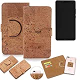 K-S-Trade 360° Cover cork Case for Sharp Aquos D10 |