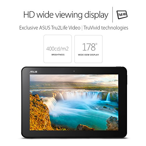 Product Image 3: ASUS Transformer Book T101HA-C4-GR 10.1-Inch 2-in-1 Ultraportable Laptop with Intel Core X5 1.44 GHz 4GB 64GB HD Windows 10 Touchscreen, Gray