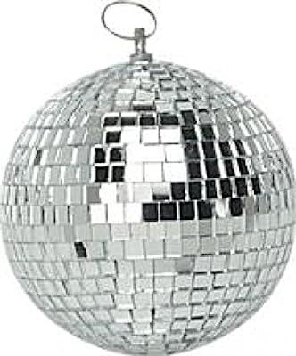 "4"" 100mm Soundlab Mini Mirror Ball Ideal For DJ Disco Halloween Party G007AA"