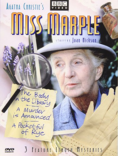 Miss Marple - 3 Feature Length Mysteries (The Body in the Library / A Murder Is Announced / A Pocketful of Rye)
