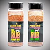 Honey Heat Pork & Poultry Rub and Bold Beef   2 Pack Combo