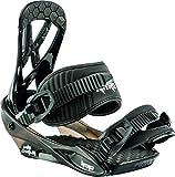 Nitro Snowboards Charger Mini attacchi da Snowboard/Sci, Unisex Bambini, Black, S