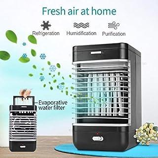 Junio1 Air Cooler Mini Fans Ventilador de enfriamiento de Aire Acondicionador portátil de Verano Ventiladores