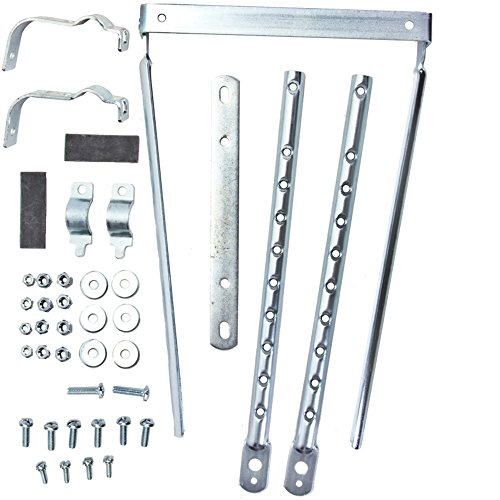 Wald Basket Part 257X Silver Adjust Leg Kit
