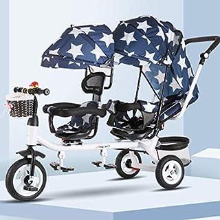 WYX Stroller Cochecitos para Bebés Gemelos Pliegue Ligero