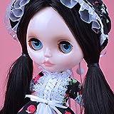 YUMMON el de 12 Pulgadas muñeca Desnuda es Similar a la muñeca del bjd Blyth, muñecos Personalizados se Pueden Cambiar Maquillaje y Vestido de muñecas DIY YM19
