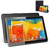 Tablet 10 Pulgadas 4G WiFi Android 9.0 Ultrar-Rápido - Tableta 4GB RAM 64GB de Memoria, Escalable 128GB - Certificación Google GMS, 8000mAh, Dual SIM, Quad Core y Interfaz de Carga Magnética