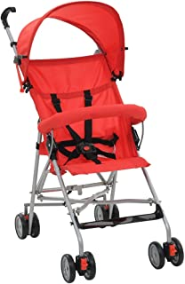 Negra Capacidad de Carga M/áxima: 15 kg FESTNIGHT Sillita de Paseo Viaje para Beb/é Acero