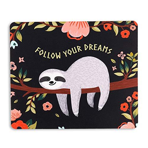 AOKSUNOVA マウスパッド かわいい おしゃれ 可愛い 小型 高級感 耐久性が良い (24 x 20cm)