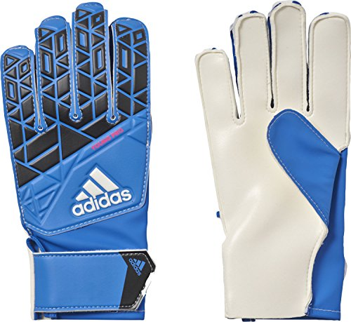 adidas Kinder ACE Young Pro Torwarthandschuhe, Blue/Core Black/White/Shock Pink, 7