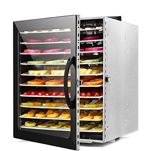 Find Discount LMDH Premium Food Dehydrator Machine, 10 Trays with Digital Timer and Temperature Control for Beef, Jerky, Fruit, Dog Treats, Herbs