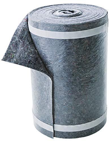 Alfa Treppenvlies 330 mm x 25 m selbstklebendes Abdeckvlies 230 g/m² für Treppen, Heizkörper, Türzargen