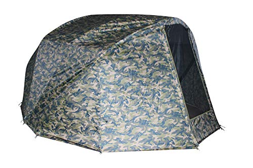 MK-Angelsport Winterskin für Fort Knox 2.0 Dome Ghost 3,5 Mann (kein Zelt nur Überwurf), Dome, Overwrap Bivvy Angelzelt