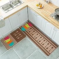 滑り止めキッチンマットロングバスルームキャビネットキッチンエントランスホームデコレーションキッチンアクセサリー-03_40x60cmおよび40x120cm