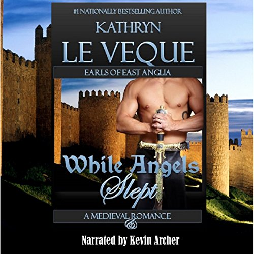 While Angels Slept audiobook cover art