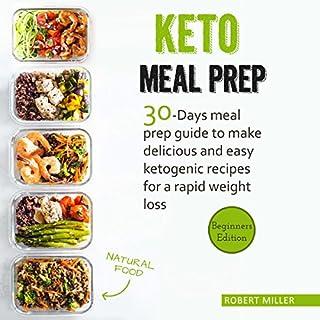 Keto Meal Prep audiobook cover art