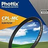 Filtro polarizador circular de 77 mm Phottix CPL-MC Slim