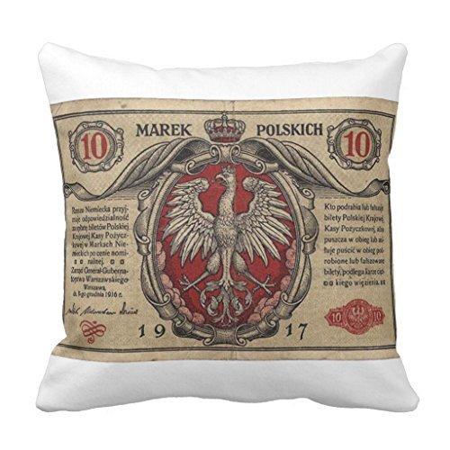 Vintage Vernis billet Mojo lombaire 1 canapé Taie d'oreiller décoratif Canapé Housse de coussin pour le salon Toile Slipcover 45 x 45 cm