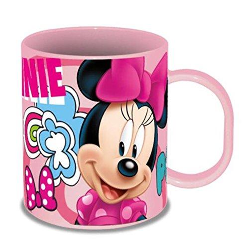 Disney KD-MI17833 Taza Plástico Polipropileno de Minnie Mouse, Multicolor