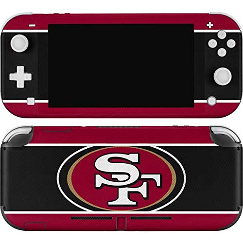 Skinit Decal Gaming Skin Compatible with Nintendo Switch Lite - Officially Licensed NFL San Francisco 49ers Zone Block Design