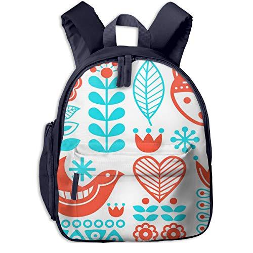 Kinderrucksack Kleinkind Jungen Mädchen Kindergartentasche Schwedisch Finnisch Backpack Schultasche Rucksack