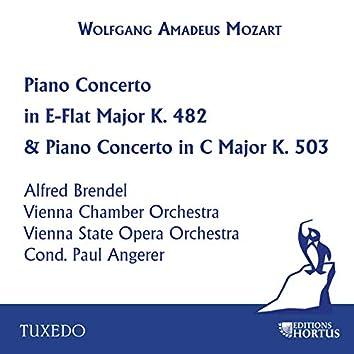 Mozart: Piano Concerto in E-Flat Major, K. 482 & Piano Concerto in C Major, K. 503